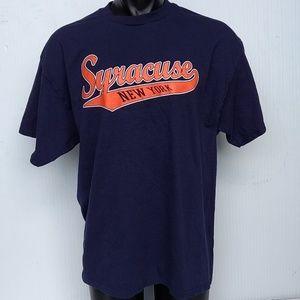 Men's Syracuse New York Cotton T Shirt XL
